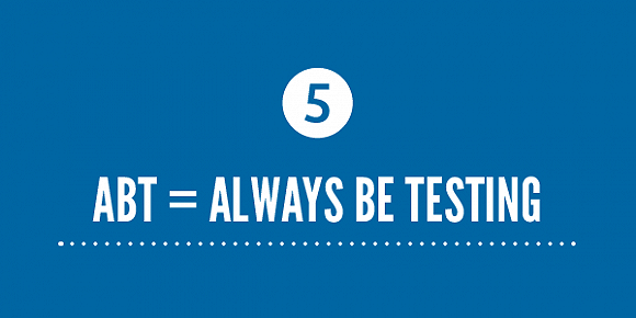 程序化广告中的ABT: Always Be Testing